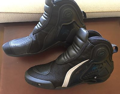 DAINESE Dyno C2B Motorcycle Boots Shoes Black 10 / 43