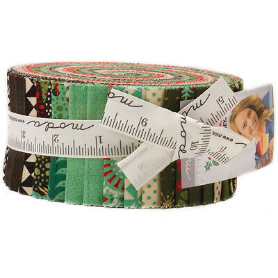 Patchwork/quilting Fabric Moda Berry Merry- Jelly Roll - Christmas