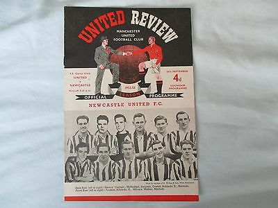 Manchester United v Newcastle - 1952 Charity Shield