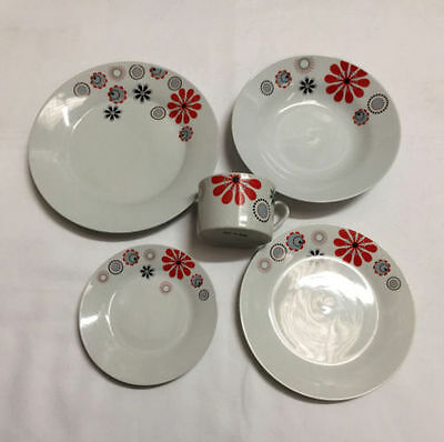 Dinner set 30pcs -plates + coffee china ceramic porcelain- SECONDS FROM FACTORY