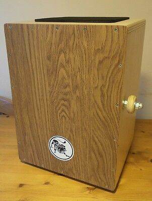 "Lion ""Active Bass"" cajon with deluxe Meinl bag"