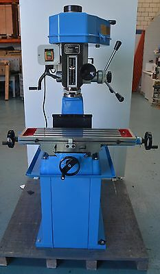 240 Volt Single Phase Mill Drill Milling Machine With Stand