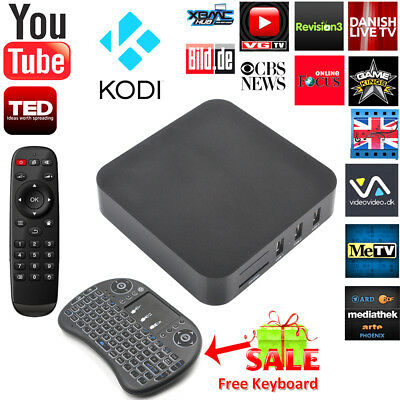 2017 GEC PRO S905 4K Quad Core Android 5.1 TV Box Fully Load Media Player
