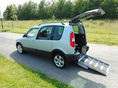 2012 Skoda Roomster 1.2 Automatic ONLY 11K Wheelchair Disabled Accessible WAV