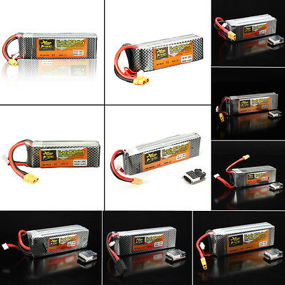 ZOP Power 7.4V-22.2V 1800mAh-8000mAh 2S-6S 30C-45C Lipo Battery For RC Airplane