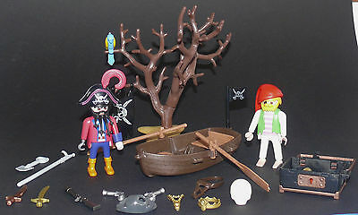 Playmobil Piratenset 3858 Piraten mit Schatz und Boot