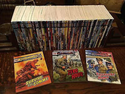 Commando War Picture Library x83 Sequential Inc Issue 5000 All As New