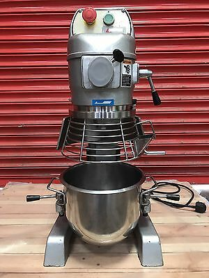 Metcalf 10 Qt Planetary Mixer, Bread, Pizza, Dough, Catering, 240 V