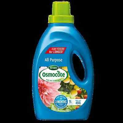 Scotts Osmocote 1L All Purpose Liquid Plant Food Concentrate