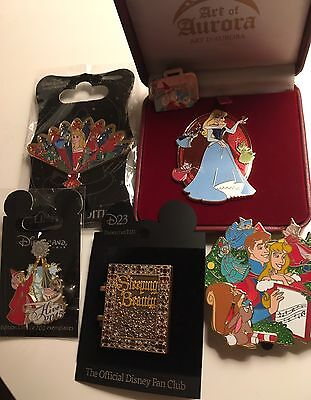 Lot De Pins Disney Sleeping Beauty