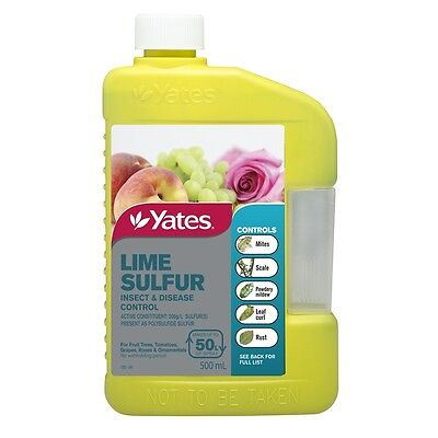 Yates 500ml Lime Sulphur Concentrate
