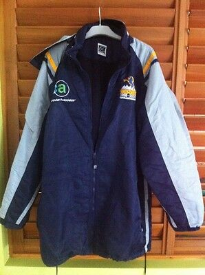 ACT Brumbies Rugby Union ISC Hooded Parker Jacket - Size XL