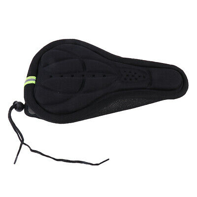 Bike Bicycle Cycling Soft 3D Sponge Cushion Pad Saddle Seat Cover Waterproof