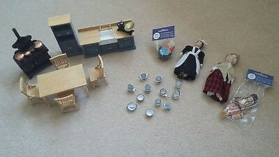 dolls house accessories mixed lot