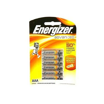Energizer Advanced AAA Batteries - 6 Pack