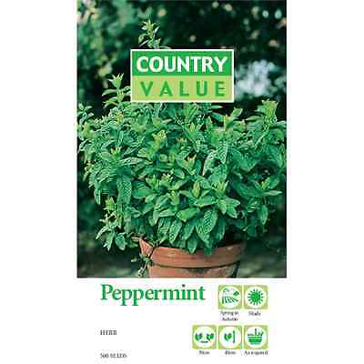 Country Value Peppermint Herb Seed