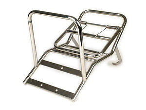 Stainless Steel Madrid Rack - Vespa Gs160 Ss180 Sprint Rally 180 200 Super Gtr