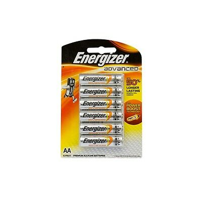 Energizer Advanced AA Batteries - 6 Pack