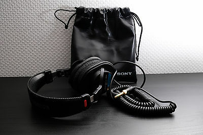 Casque audio studio headset Sony MDR-7506 as new with carrying pouch