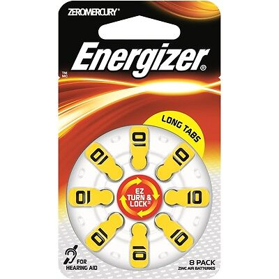 Energizer Hearing Aid Battery - 8 Pack