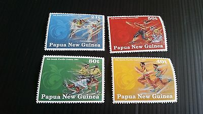 Papua New Guinea  1991 Sg 651-654 9Th Pacific Games  Mnh