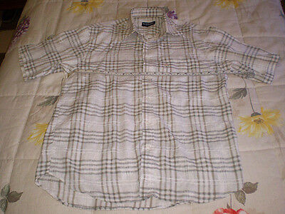Camisa Burberry London manga corta talla M (buen estado)