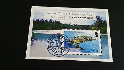 British Indian Ocean Territory 2005 Sg Ms318 Turtles Used