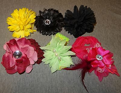 6pc Kids Girl Baby Toddler Infant Flower Headband Hair Band Accessories Headwear