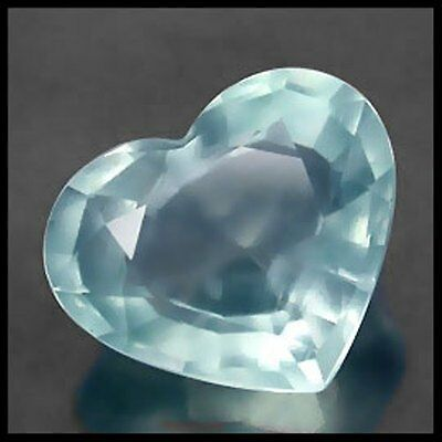 2.98Ct.lovely Heart Shape Natural Aquamarine Brazil