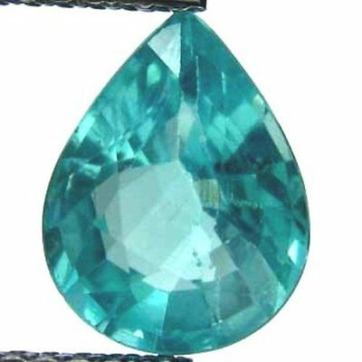 Apatite 1.59 Ct. Natural Paraiba Clr Beautiful Pear