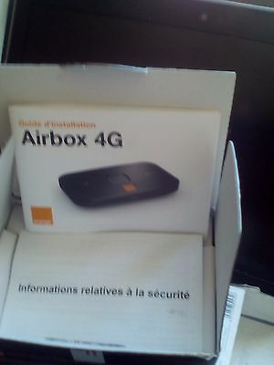 Airbox 4G  orange Huawei E5573