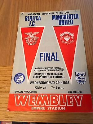 Manchester United v Benfica 1968 European Cup Final