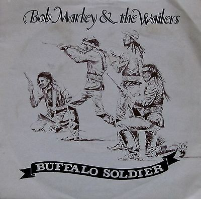 "Bob Marley & The Wailers - Buffalo Soldier (7"" VINYL, VGCond, 1983, IS 108)"