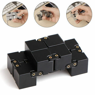 2018 Magical Cube Mini Infinity For Stress Relief Fidget Anti Anxiety Funny Toy