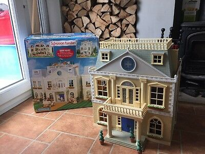 Boxed Sulvanian Families Grand Hotel mansion large house - With Extras