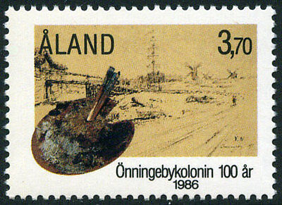 Aland 25 MNH - Onningeby Artist' Colony
