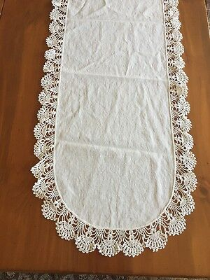 Antique Linen Table runner