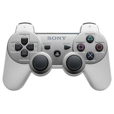 PS3 / Playstation 3 - Original DualShock 3 Wireless Controller #silber [Sony]