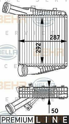 8ML 376 729-571 HELLA Intercooler  charger  Right