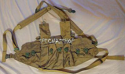Tactical Russian LightWeight Specnaz SpN CHEST RIG in SYRIA DESERT Color by BARS