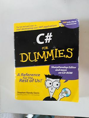 C# for Dummies by Stephen Randy Davies