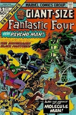 Fantastic Four Giant Sized (Vol 1) #   5 (NrMnt Minus-) (NM-) Marvel Comics AMER