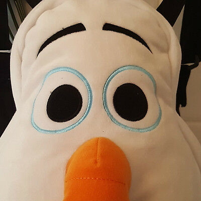 Disney OLAF 3D Backpack Bag By Posh Paws LARGE  back pack