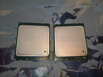 2x Intel Xeon E5-2650 SR0KQ 8 Core 2,0-2,8Ghz Socket 2011 20MB C2 [MATCHED PAIR]
