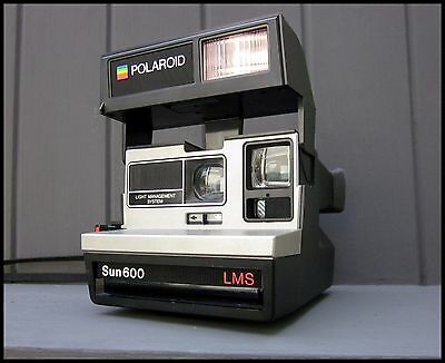 Polaroid Sun 600 LMS Instant Film Camera | Tested Working