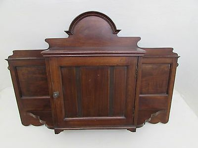Edwardian Wall Hanging Cabinet / Cupboard / Medicine Cabinet