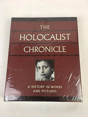 """The Holocaust Chronicle """"A History In Words & Pictures"""" Hardcover Book NEW"""