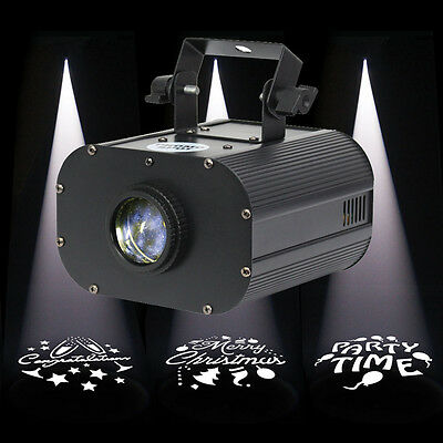 Equinox Promo Spot 25W DJ DMX Gobo Light - Print Your Own Custom Logo Or Image
