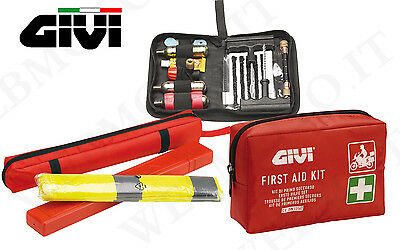 set GIVI high security moto with set first aid e repair tyres tubeless