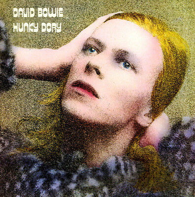 DAVID BOWIE - HUNKY DORY - 12 inch GOLD VINYL - LIMITED EDITION - SEALED - NEW!